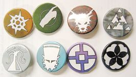 Shadowfist faction buttons
