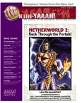 Shadowfist Kiiii-YAAAH! newsletter cover, issue 1