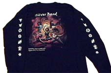 Shadowfist Silver Band T-Shirt, Z-Man Games 2000.